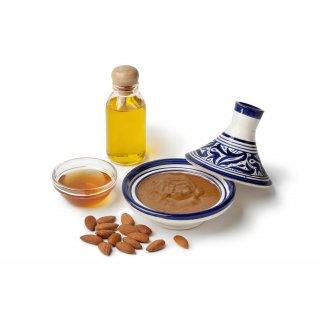 Hymor Amlou Arganöl 3x 200g ganze Mandeln Mandelpaste Atlasküche Honig Marokko