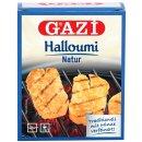 Gazi Halloumi 5x 250gramm 43% Fett Pfannenkäse Grillkäse vakuumiert Schnittkäse