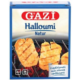 Gazi Halloumi 10x 250gramm 43% Fett Pfannenkäse Grillkäse vakuumiert Schnittkäse