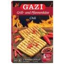 Gazi Grill- und Pfannenkäse 2x 200g Chili 45% Fett...