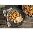 Gazi Grill- und Pfannenkäse 2x 200g Chili 45% Fett i.Tr Grillkäse Pfanne Vakuum