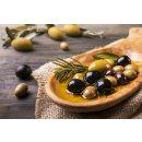 Hymor Marokkanische Oliven 2x 380g grüne Oliven entsteint pikant aus Marokko