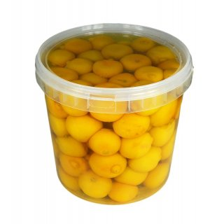 Hymor Zitronen eingelegt 8kg Eimer aus Marokko Salzzitronen eingelegte Zitronen