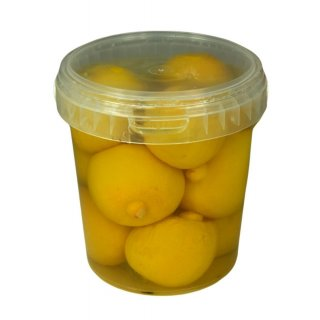 Hymor Zitronen eingelegt 550g Behälter Marokko Salzzitronen eingelegte Zitronen