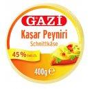 Gazi Kashkaval 10x 400g 45% Fett i.Tr. Schnittkäse...
