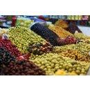 Hymor Marokkanische Oliven 595g schwarze Oliven in Salzlake Olive aus Marokko