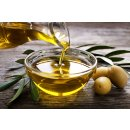 Hymor Marokkanische Oliven 2x 595g schwarze Oliven Salzlake Olive aus Marokko