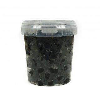 Hymor Marokkanische Oliven 5x 595g schwarze Oliven Salzlake Olive aus Marokko