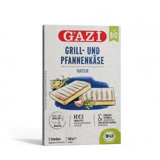 Gazi BIO Grill- und Pfannenkäse Natur 12x 160g 43% Grillkäse Pfanne vakuumiert