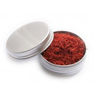 Hymor Safranfäden 5g Afghanischer Safran Safran in Fäden Dose Premium Qualität