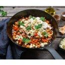 Gazi Schafskäse und Ziegenkäse Set in Salzlake 2x 800g 50% Fett Schaf Ziege Käse