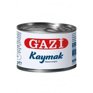 Gazi Kaymak 6x 170g Rahmerzeugnis Rahmprodukt Schichtsahne 23% Fett aus Kuhmilch