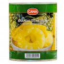 Cana Ananas in Scheiben 3x 490g leicht gezuckert...
