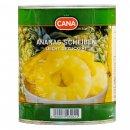 Cana Ananas in Scheiben 6x 490g leicht gezuckert...