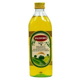 Fabbri Lucca Valdoro Olivenöl 1 Liter raffiniertes natives Öl Italien Toskana