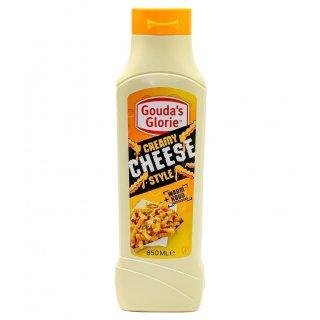 Goudas's Glorie Creamy Cheese Style Käsesauce 4x 850ml vegane Käsesoße cremig