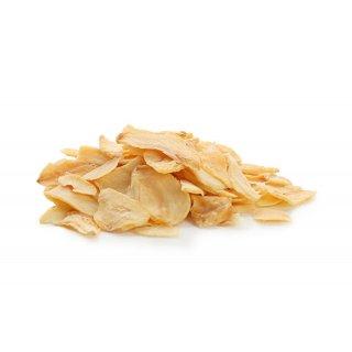 Hymor Knoblauchflakes 1kg lufgetrocknete Knoblauch-Flocken-Scheiben zum Würzen