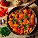 Palirria Riesenbohnen 12x 280g gekocht Zwiebel-Tomatensauce Griechische Bohnen