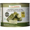 Palirria Weinblätter 2,1kg gefüllt mit Reis traditionell griechische Dolmades