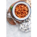 Palirria Riesenbohnen 6x 2kg gekocht in Zwiebel-Tomatensauce Griechische Bohnen