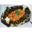 Palirria Weinblätter 6x 2,1kg gefüllt mit Reis traditionell griechische Dolmades