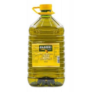 Fabbri Lucca Olivenöl 2x 5 Liter Oliventrester Öl Olio di Sansa Italien Toskana