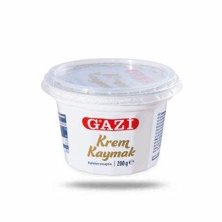 Gazi Krem Kaymak 6x 200g Rahmerzeugnis Rahm Schichtsahne 23% Fett aus Kuhmilch
